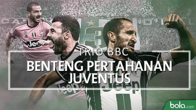 Video yang menjelaskan kehebatan Leonardo Bonucci, Andrea Barzagli dan Giorgio Chiellini (Trio BBC) di lini belakang Juventus.