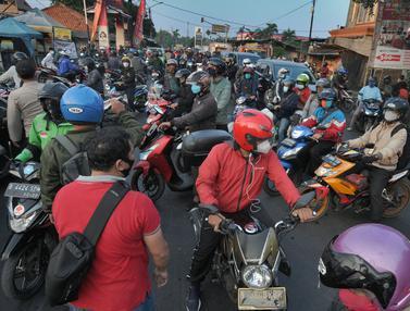 Ribuan Kendaraan Menuju Jakarta Diputar Balik