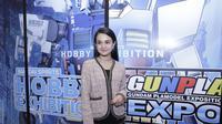 Michelle Ziudith di acara Gunpla Expo 2019.