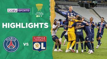 Berita Video PSG Juarai Piala Liga Prancis Lewat Drama Adu Penalti Melawan Olympique Lyon