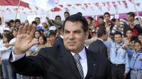 Zine EL Abidine Ben Ali, mantan presiden Tunisia. (AP Photo/Hassene Dridi)