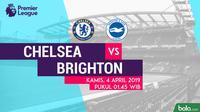 Premier League - Chelsea Vs Brighton & Hove Albion (Bola.com/Adreanus Titus)