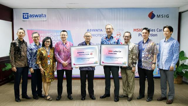 Asuransi MSIG Indonesia secara resmi meluncurkan MSIG Ladies Car Protection.
