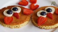 Cute Fluffy American Pancake kreasi Farah Quinn. (dok. YouTube Farah Quinn)