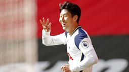 2. Son Heung-Min (Tottenham Hotspur) - 7 gol. (AFP/Andrew Boyers/pool)