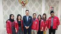 Sejumlah pengurus DPP PSI bertemu dengan Dubes RI untuk Indonesia Rusi Kirana di Kuala Lumpur, Malaysia (Istimewa)