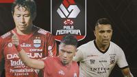 Piala Menpora - I Made Wirawan, Maman Abdurahman, Beto Goncalves (Bola.com/Adreanus Titus)