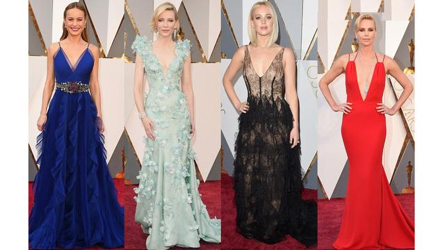 Gaun Seksi Di Red Carpet Oscars 2016 Fashion Beauty Liputan6 Com