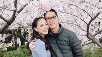 Yuanita Christiani berbulan madu ke Jepang bersama suami (Dok.Instagram/@yuanitachrist/https://www.instagram.com/p/BvoDVVNHUhH/Komarudin)