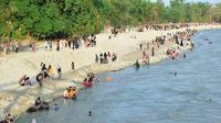Sungai Rongkong, bekas banjir bandang Lutra jadi lokasi wisata (Fauzan/Liputan6.com) (Fauzan