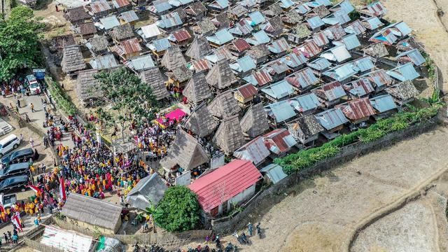 Menilik Uma Lengge Rumah Tradisional Suku Mbojo Di Desa Wisata Maria Bima Regional Liputan6 Com