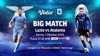 Big Match Lazio vs Atalanta di Vidio. (Sumber: Vidio)