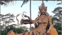 Wisata dan Pemandangan Alam Indah di Alas Harum Ubud Bali. foto: Instagram @bali.terkini