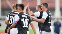 Dybala jadi kapten Juventus dan menyumbang satu gol (Dok Juventus)