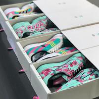 Olahraga makin segar dengan sneakers es teh dari Adidas, seperti apa? (Foto: instagram/drinkarizona)