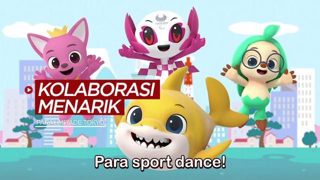 Berita video kolaborasi menarik dari karakter di Baby Shark Pinkfong dengan maskot Paralimpiade Tokyo 2020, Someity.
