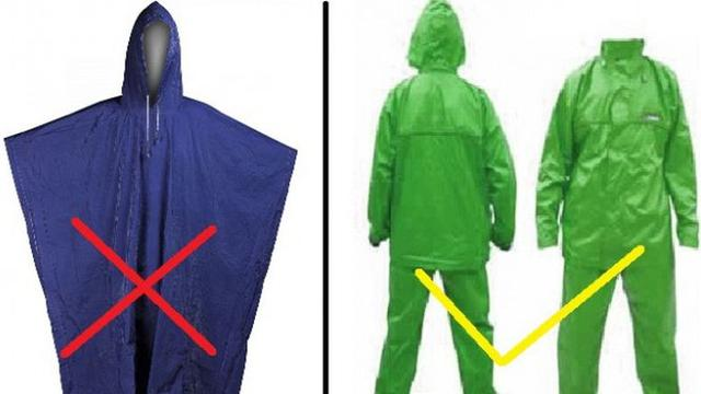 Ini Bahayanya Pakai Jas Hujan Ponco - Otomotif Liputan6.com d34ef55551