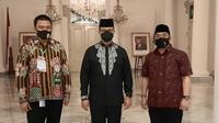 Gubernur DKI Jakarta Anies Baswedan saat membuka rapat kerja FKDM. (Istimewa)
