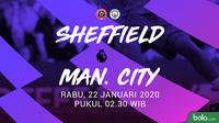 Premier League - Sheffield United Vs Manchester City (Bola.com/Adreanus Titus)