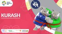 Logo Cabang Baru Asian Games 2018_Kurash (Bola.com/Adreanus Titus)