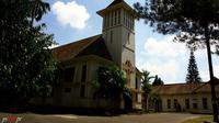 Kapel Besar Seminari Menengah St. Petrus Kanisius, Mertoyudan, Magelang. (Liputan6.com/Loop/yswitopr)