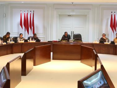Jokowi Pimpin Ratas Penyediaan Rumah untuk ASN,TNI, dan Polri