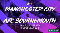 Premier League - Manchester City vs AFC Bournemouth. (Bola.com/Adreanus Titus)