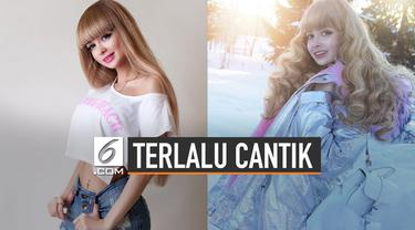 Wanita asal Rusia ini dikenal sebagai wanita 'Barbie'. Saking cantiknya, ia dilarang keluar rumah oleh kedua orang tuanya.