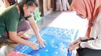 Kerajinan jumputan Gambo akan dikembangkan menjadi destinasi wisata budaya di Kabupaten Musi Banyuasin Sumsel (Dok. Humas Pemkab Musi Banyuasin / Nefri Inge)