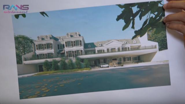Lihat Desain Rumah Baru Super Mewah Raffi Ahmad Nagita Slavina
