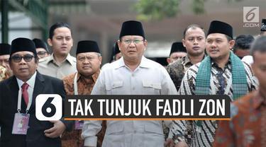 Prabowo Subianto tak tunjuk Fadli Zon sebagai Wakil Ketua DPR 2019-2024. Ketua Umum Partai Gerindra itu menunjuk Sufmi Dasco Ahmad.