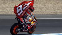 Marc Marquez juara MotoGP Jerez. (AP Photo/Miguel Morenatti)