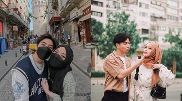 6 Momen Liburan Putri Delina dan Kekasih di Turki, Romantis