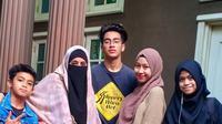 Potret Kebersamaan Umi Pipik Bersama Keempat Buah Hatinya (Instagram.com/_ummi_pipik_)
