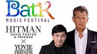 Batik Music Festival 2019 bersama Hitman David Foster and His Friends dan Yovie Widianto and His Friends di Candi Prambanan, Sabtu 5 Oktober 2019