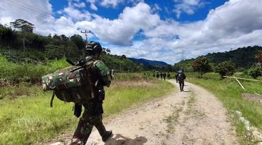 Personel TNI yang Gugur di Poso Dibawa ke Jakarta untuk Penghormatan