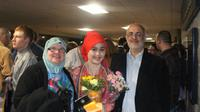 Deya Faaghna, WNI di Iowa, Amerika Serikat yang berpuasa Ramadan 17 jam selama 5 tahun berturut-turut. (Istimewa)