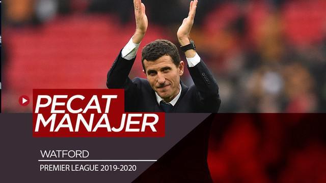 Berita video Watford menjadi klub Premier League pertama yang memecat manajernya pada musim 2019-2020.