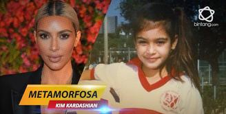 Bagaimana metamorfosa Kim Kardashian dari tahum ke tahun?