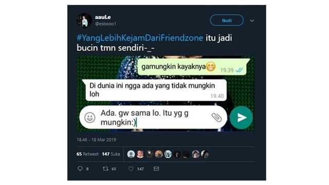 curahan hati netizen ini buktikan kejamnya hubungan friendzone