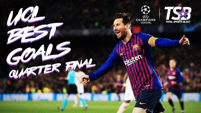 Berita video highlights gol-gol terbaik pada babak perempat final Liga Champions 2019. Salah satu gol Lionel Messi ke gawang David De Gea masuk ke dalam daftar ini.