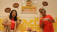 HokBen mengembangkan inovasi menunya dengan menghadirkan sambal Indonesia dalam paket menu Hoka Suka (Liputan6/pool/HokBen)
