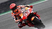 Marc Marquez dinilai membalap dengan serampangan di MotoGP Styria (AFP)
