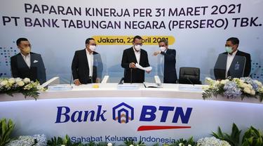 Paparan Kinerja PT Bank Tabungan Negara (Persero) Tbk atau Bank BTN
