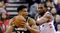 Milwaukee Bucks vs Toronto Raptors (Frank Gunn/The Canadian Press via AP
