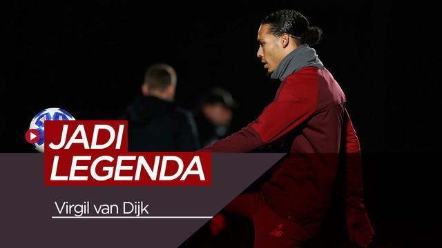 Berita video tentang Virgil van Dijk yang ingin menjadi legenda Liverpool.