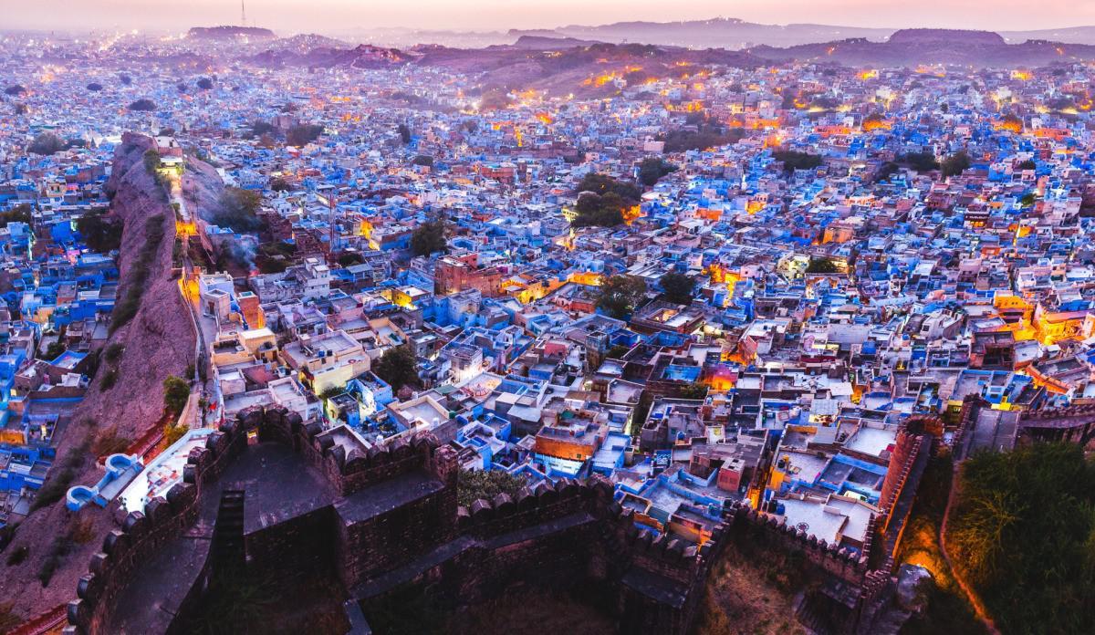 Jodhpur, Rajasthan, India. (aussieindiaholidays.com.au)