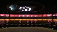 Ruang Ganti Stadion Wanda Metropolitano (Dok. Instagram/ Atletico Madrid).
