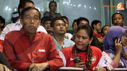 Jokowi Hadir Di GBK untuk Mendukung Timnas Indonesia