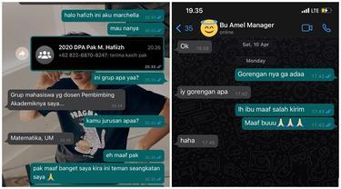 10 Momen Netizen Salah Kirim Chat Ini Bikin Geleng Kepalaf